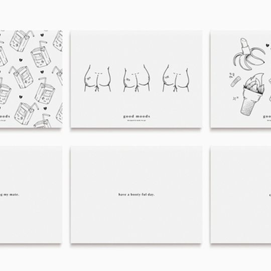 good postcards // pack of 3