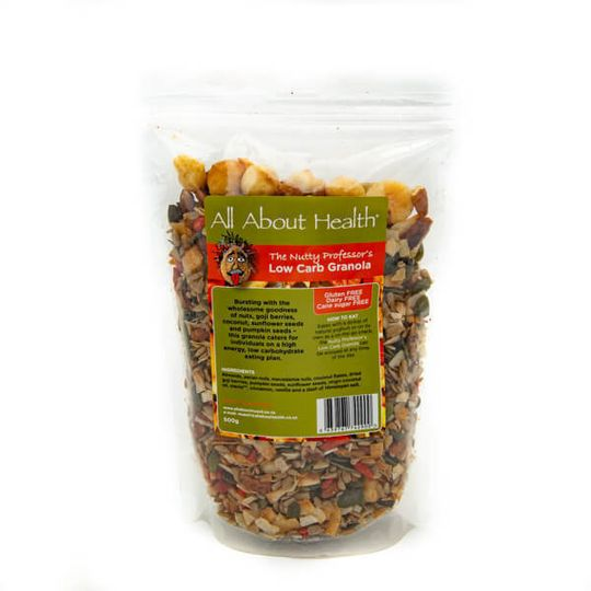 Low Carb Granola Nutty Proffesor (500g)