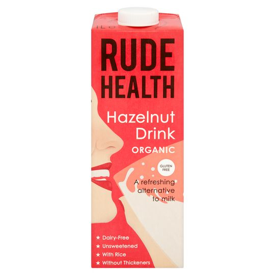 Rude Health Hazelnut Drink 1lt