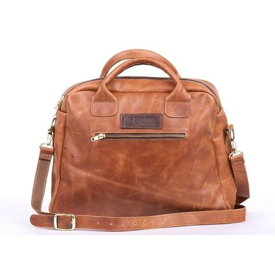 The Jacqui Leather Laptop Bag