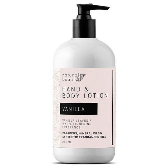 Vanilla Hand & Body Lotion