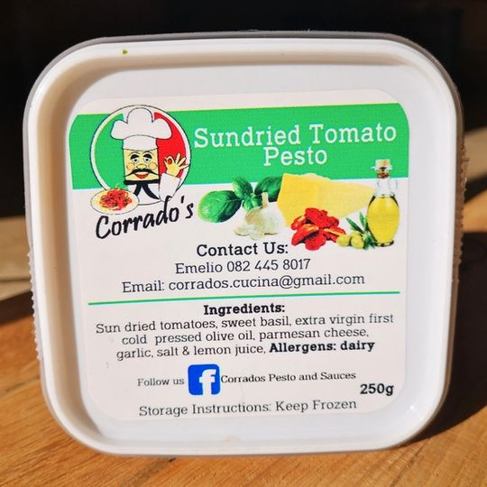 Corrado's Pesto & Sauces Sundried Tomato Pesto (250g)