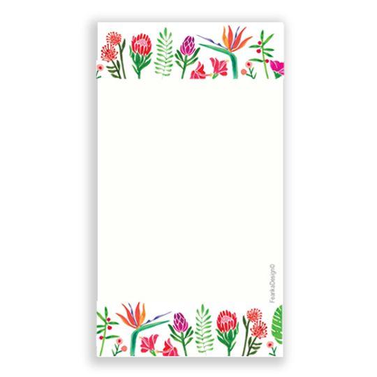 10 Little Letters - Flower border portrait