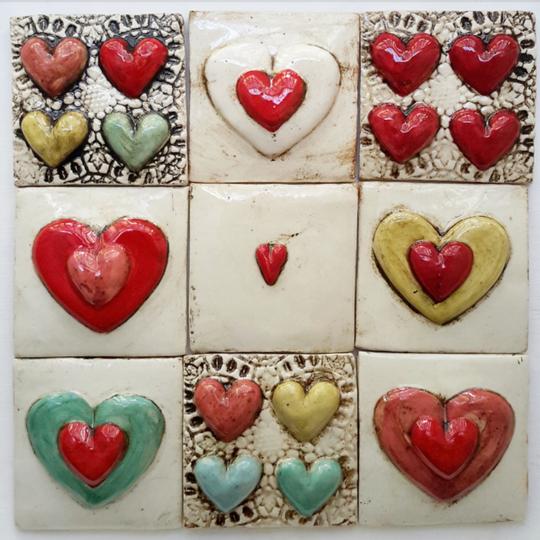 Tile, Hearts