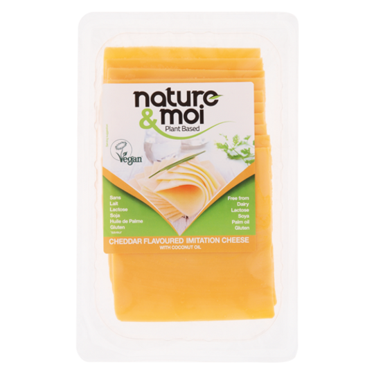Nature & Moi Cheddar Slices 200g