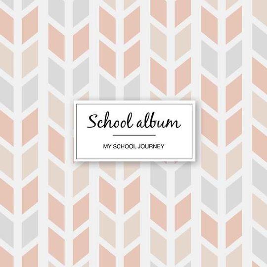 School album - pink