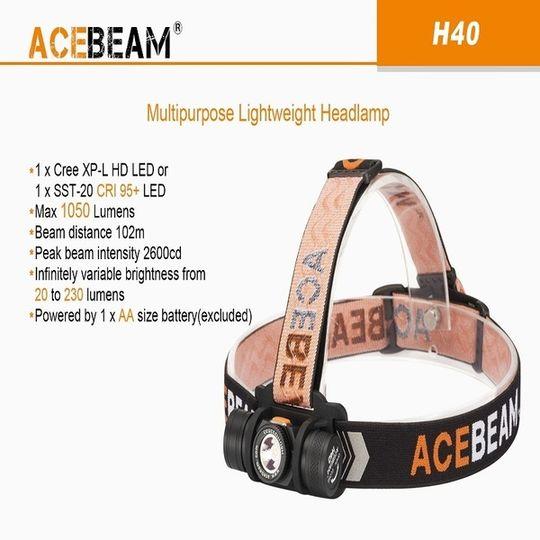 Acebeam H40 Headlamp