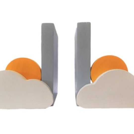 Sun and Cloud Bookends