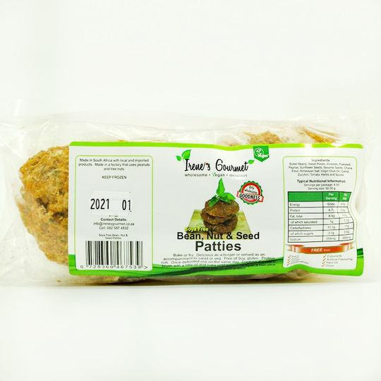 Bean & Nut patties - 4 pck