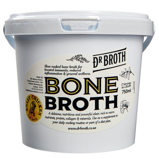 Dr Broth Roast Chicken Bone Broth  (750ml)