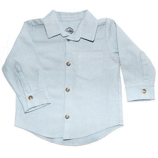 Shirt / Boys - Long Sleeve Denim Chambray  - M0364