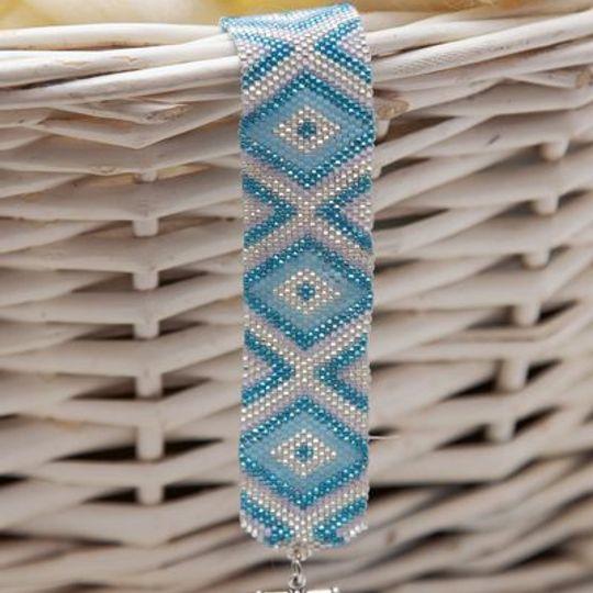 Aqua Diamond Bracelet