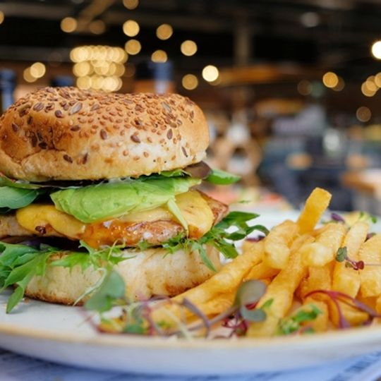 Hannay's Chipotle Chicken Burger