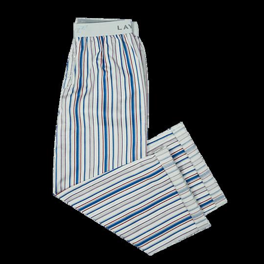Boys Long Pants Blue Stripe