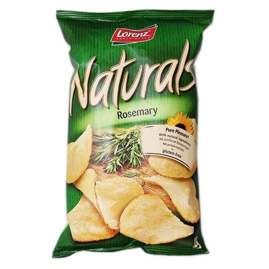 Potato Crisps Naturals Rosemary (100g)