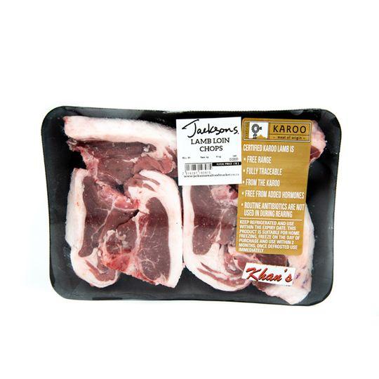 Lamb Loin Chops -  Karoo Of Origin (580g)