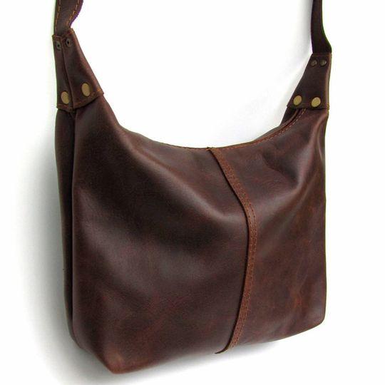 Handbag Medium - Dark Brown