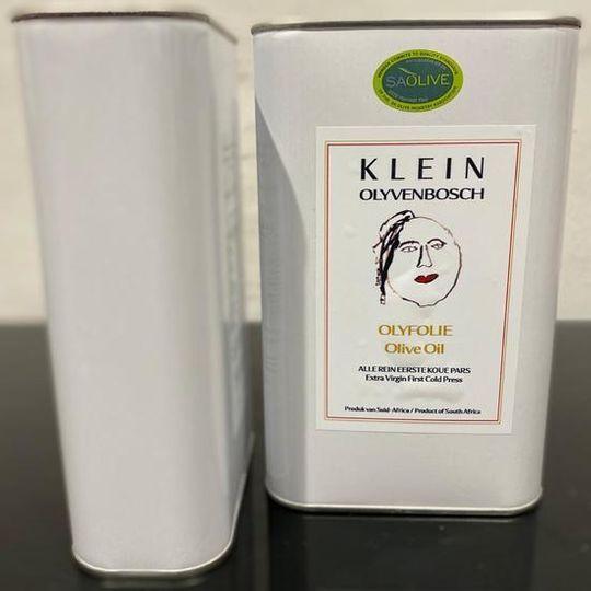 1L Extra Virgin, Klein Olive Oil.