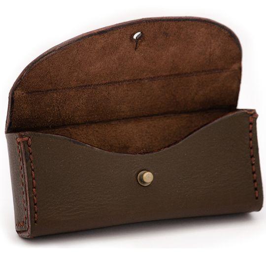 Trailblazer (Brown) - Leather Glasses Case