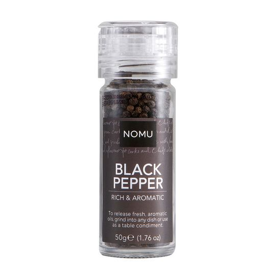 NOMU Black Pepper Grinder