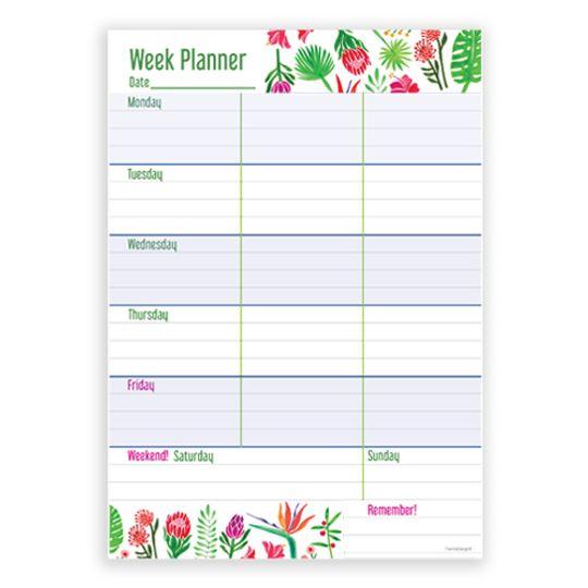 A5 Week Planner