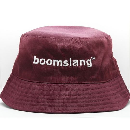 Boomslang Bucket Hat - Burgundy