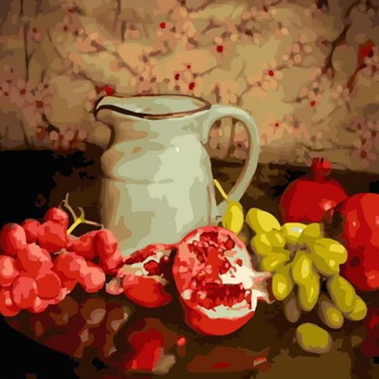 Still Life with Jug and Fruit