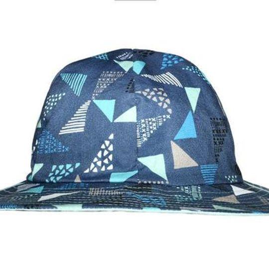 Hat / Boys - Navy Sails - M0409