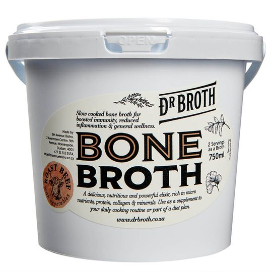 Dr Broth Roast Beef Bone Broth (750ml)