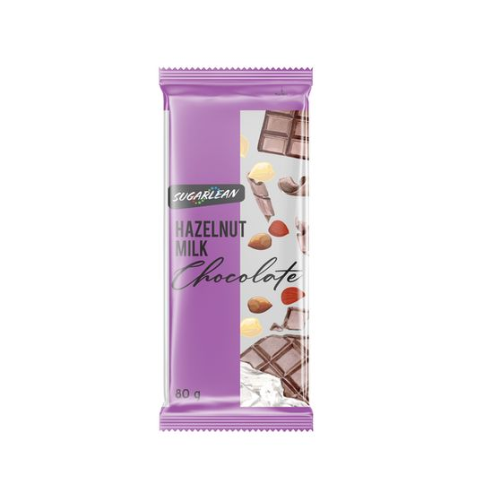 Sugarlean Hazelnut Milk Chocolate (75 g)