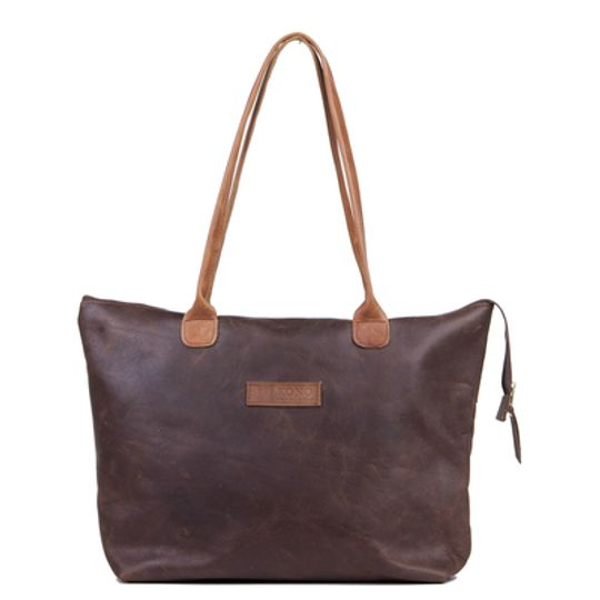 The Azania leather tote bag
