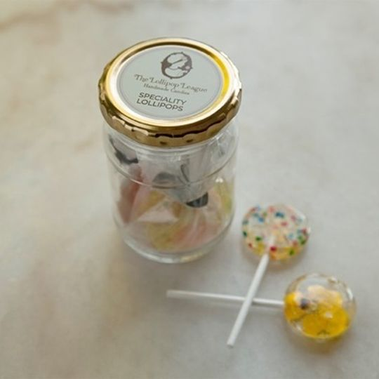 Small Lollipop Gift Jar