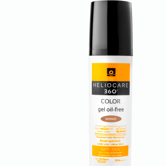 360° Color Gel Oil-Free SPF 50+ (Bronze)