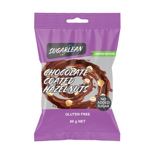 Sugarlean Chocolate Coated Hazelnuts (60 g)