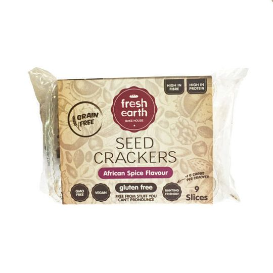 Fresh Earth Seed Cracker African Spice