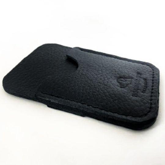 Gents Vertical Card Wallet - Brown and Black