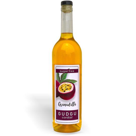 GUDGU SugarFREE Granadilla Cordial 750ml