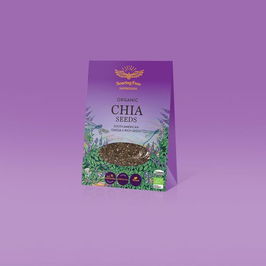 SOARING FREE SUPERFOODS Organic Chia Seeds - 200g