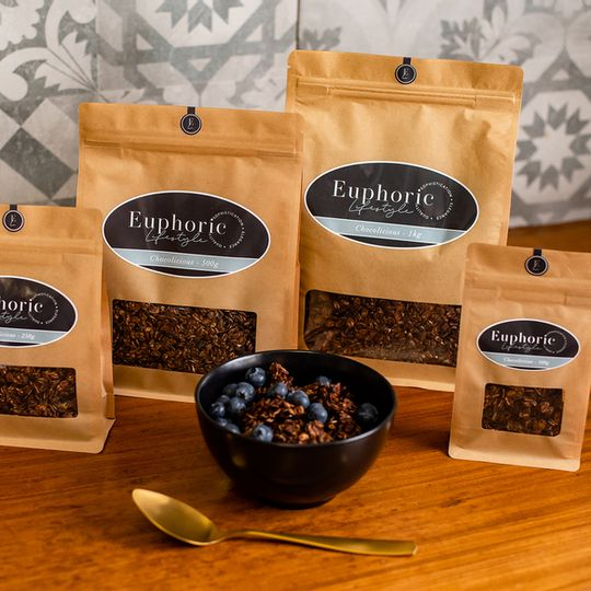 Euphoric Lifestyle Chocolicious Granola 500g bag