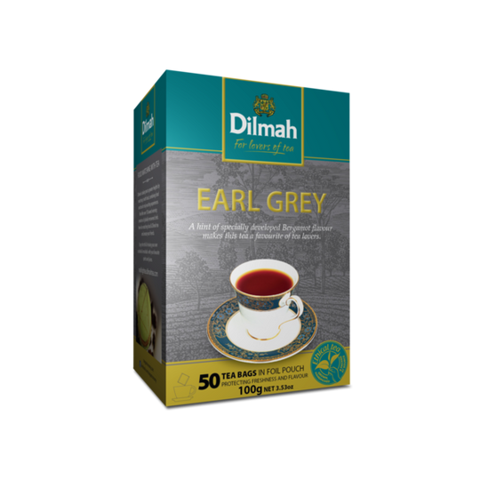 Dilmah Earl Grey (50 x 2g tagless tea bags)