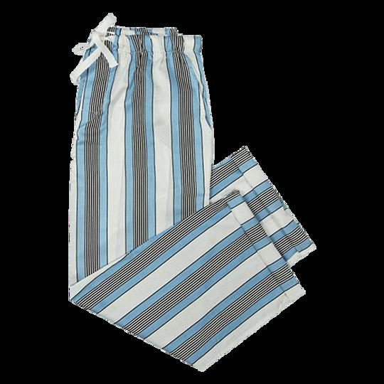 Long Pants White Stripe