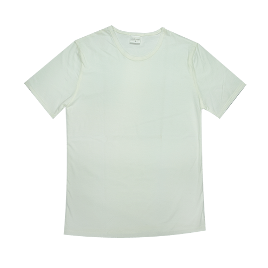Mens Short Sleeve Cream