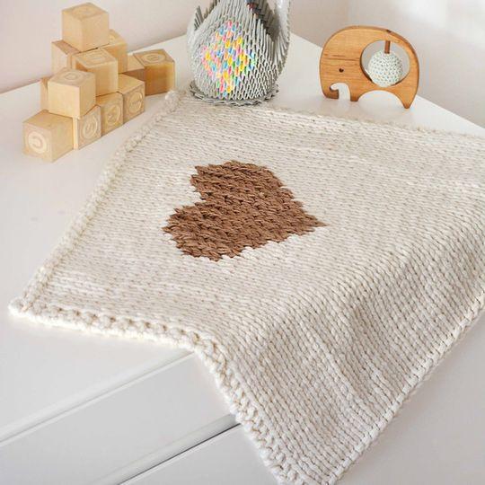 Heart blankets – Baby