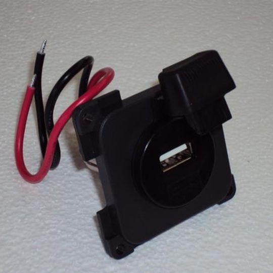 R0002476 - USB SOCKET GREY