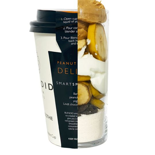 BLENDID  Peanut Butter Delight Smoothie 350ml