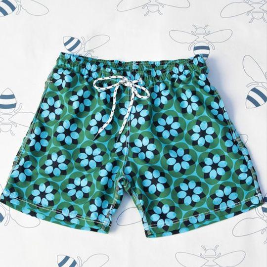 Retro Flower Shorts