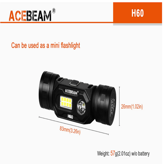 Acebeam H60 Headlamp