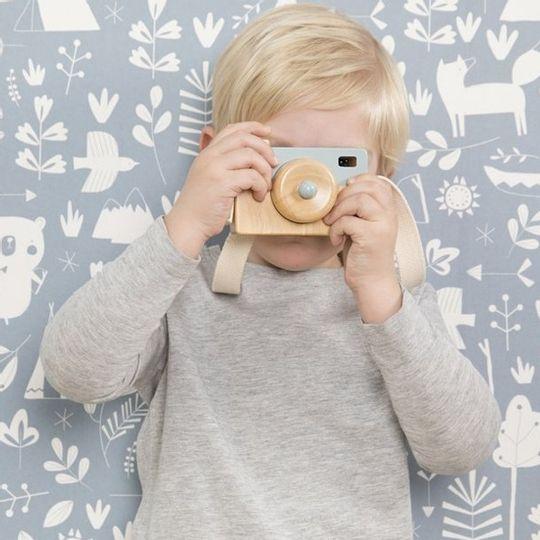 Little Dutch Wooden Play Camera - Adventure Blue