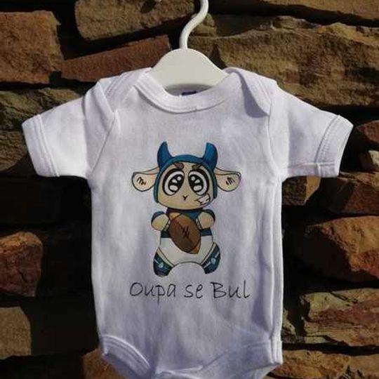 BABY Vest - Oupa se Bul