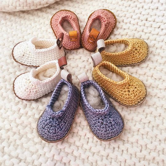 Starlight Baby Booties by Karoofelt
